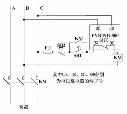 延时时间时,过电压1和过电压2输出继电器同时动作