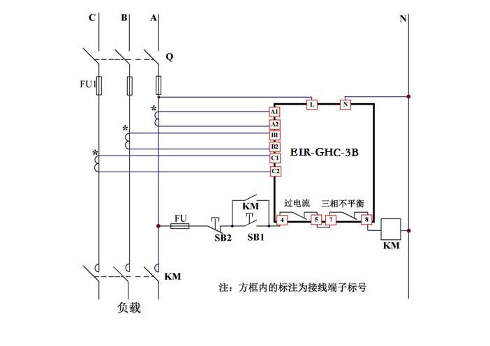 > 产品中心 >> 三相电流继电器/监控器